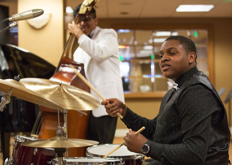 COURTESY: JIM STONE/MONTEREY JAZZ FESTIVAL - Dominick Branch is heading to the Manhattan School of Music in New York City, but not before playing at Carnegie Hall and touring Europe — exciting times for the Grant High grad.