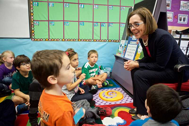Oregon Gov. Kate Brown will address students during Saturday's commencement ceremony.