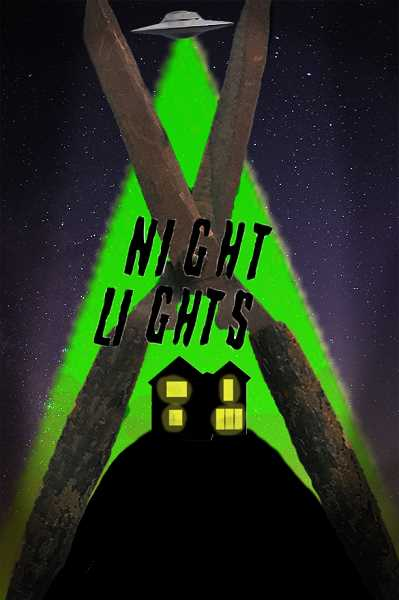 "COURTESY: NOLEN STERNKOPF - The promotional poster for ""Night Lights,"" designed by Skylar Smith."