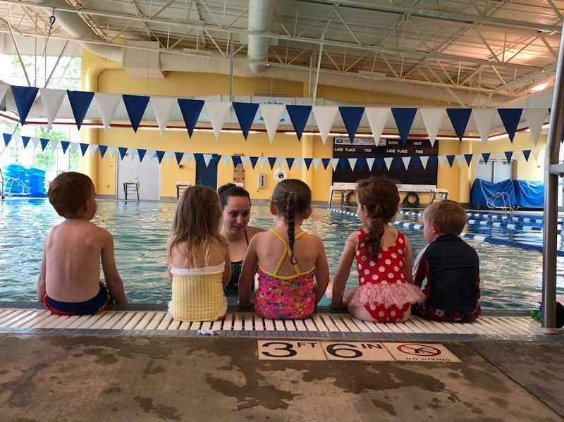 COURTESY PHOTO: MELISSA GEORGESEN - The Molalla Aquatic Center is looking for swim instructors for the summer.