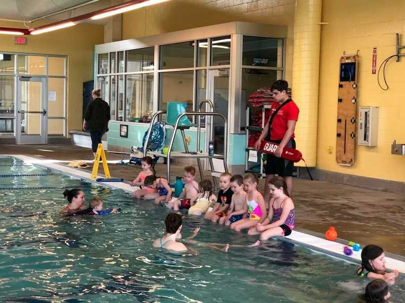 COURTESY PHOTO: MELISSA GEORGESEN - The Molalla Aquatic Center is hiring for the front desk, swim instructors and lifeguards.