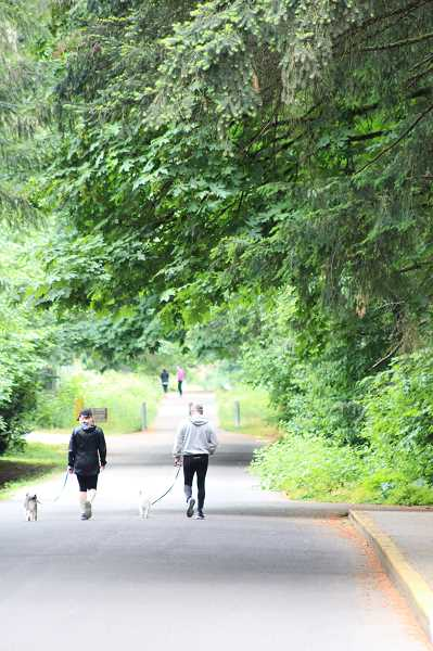 HERALD PHOTO: KRISTEN WOHLERS - Canby's Molalla Forest Road Trail runs from the Willamette River to 13th Street.