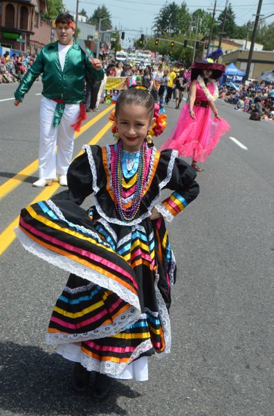 COURTESY PHOTO: ROSE FESTIVAL - Dancers and drill team members earned awards during Wednesday's Fred Meyer Junior Parade.