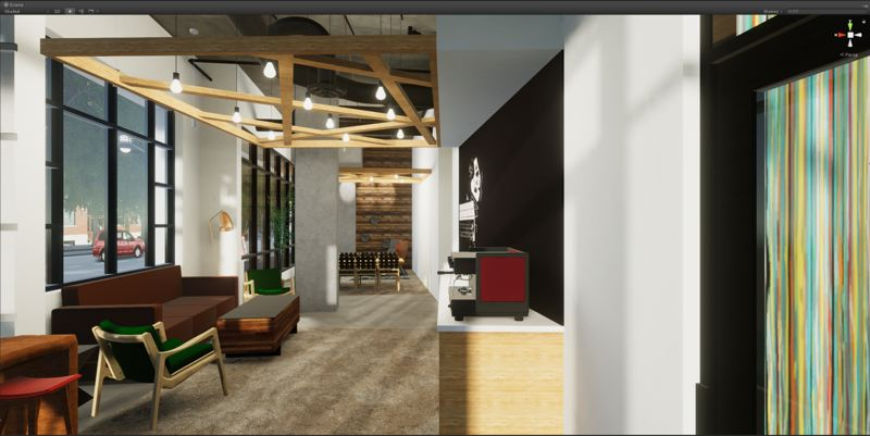COURTESY: SERA ARCHITECTS  - Renderings of the Storyline apartments at 12th and Market Street, set to open in July. I took the VR tour of the lobby and find it hard to recall whether I have been there in person.