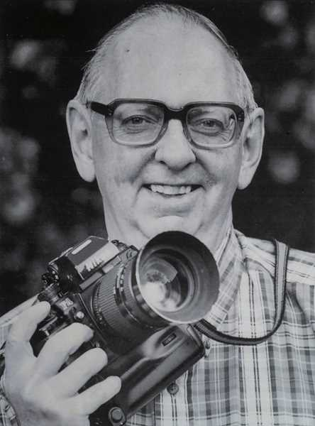 PHOTO COURTESY OF THE VINCENT FAMILY - Longtime Lake Oswego resident Jim Vincent was a lifetime member of the National Press Photographers Association and a past-president of the Oregon Press Photographers Association. He died June 4 at the age of 86.