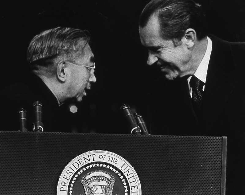 PHOTO COURTESY OF THE VINCENT FAMILY - Jim Vincent was The Oregonian's chief photographer from 1979 to 1989. Among the highlights of his journalism career: photographing an historic summit between President Richard Nixon and Japanese Emperor Hirohito in 1971.