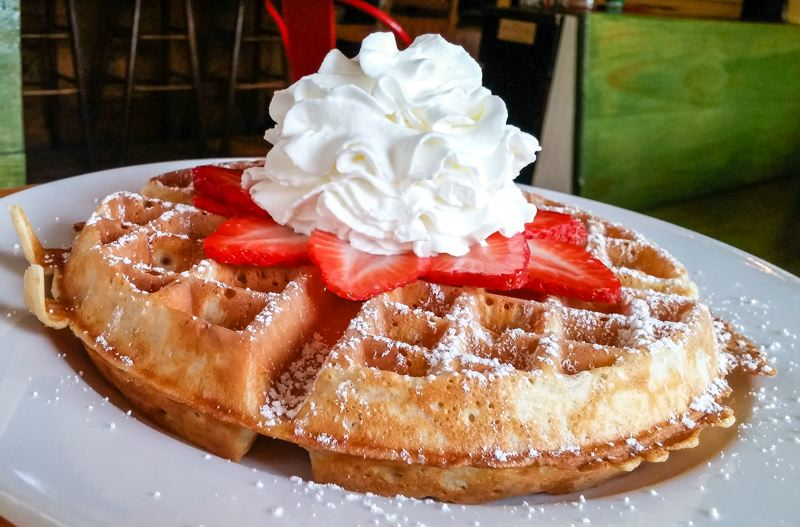 FILE PHOTO - Join members of the Boring-Damascus Grange for their annual Strawberry Waffle Breakfast on Sunday, June 10. The event is a benefit for the grange. See listing for location and times.