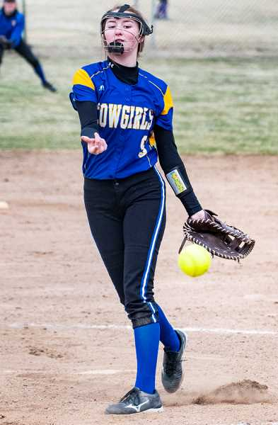 Brooke Dalton, sophomore, honorable mention all-state pitcher