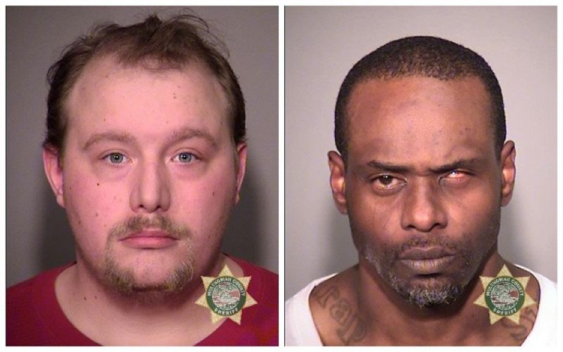 POLICE PHOTOS - FROM LEFT: Samuel Sikes and Dathan Jude McCrary are shown here in photos provided by the Portland Police Bureau.