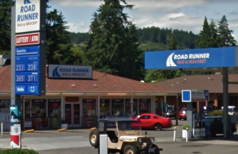 COURTESY GOOGLE - The Road Runner gas station is shown here in a screenshot taken from Google Maps.