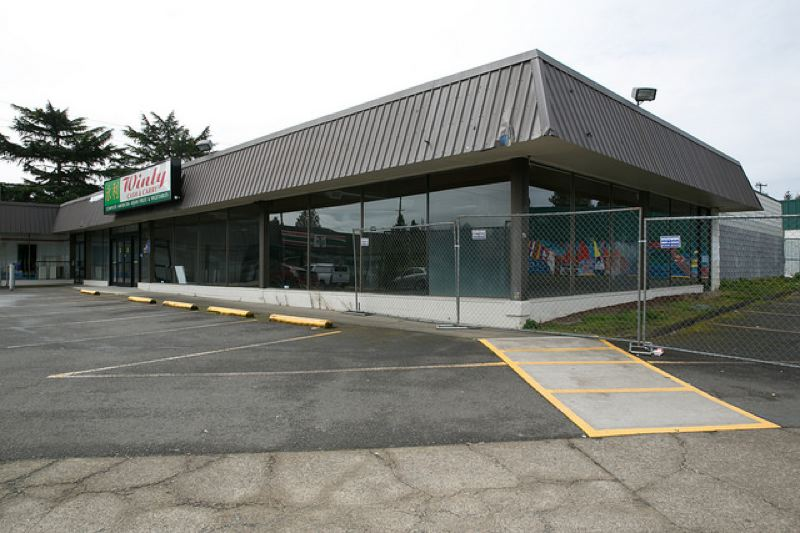 COURTESY MULTNOMAH COUNTY - Multnomah County has leased this empty grocery store in Southeast Portland for a homeless shelter.