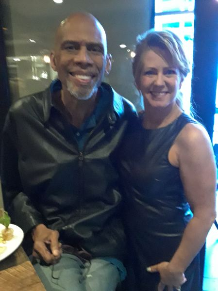 COURTESY: TONYA HARDING - Former figure skating champion Tonya Harding's whirlwind year and return more to the public eye has included meetings with athletic stars such as basketball great and fellow 'Dancing with the Stars' contestant Kareem Abdul-Jabbar.
