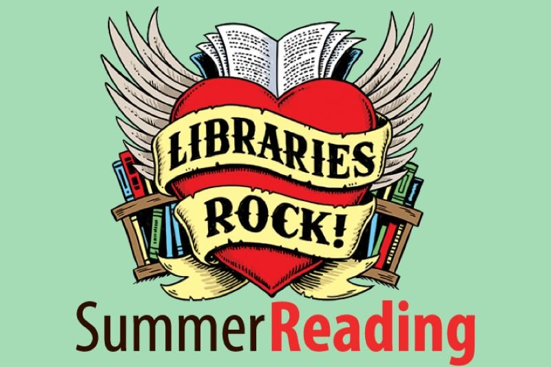 Summer-reading poster for libraries