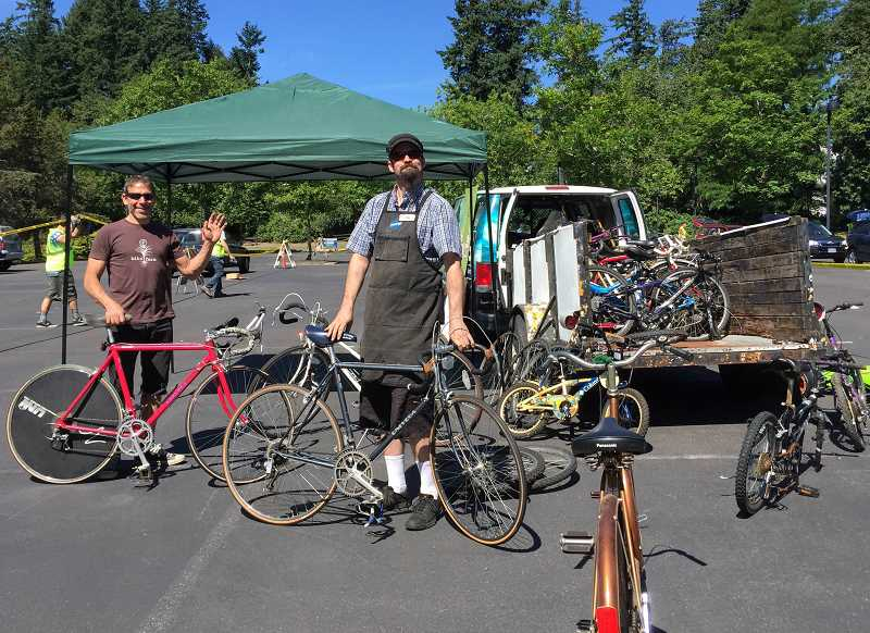 PHOTO COURTESY OF THE CITY OF LAKE OSWEGO - Looking to find a new home for your used bicycles? Representatives of Bike Farm, a volunteer-run collective based in Portland, will be happy to take them off you hands at Lake Oswego's Clean-up Day on Saturday.