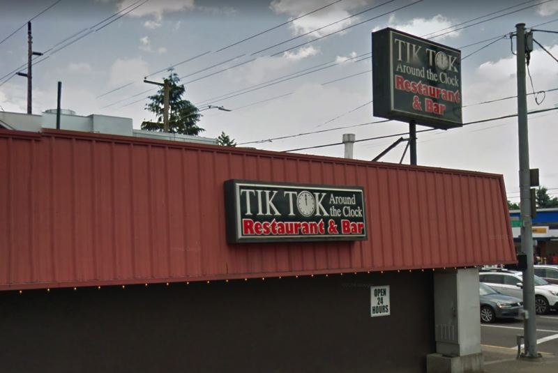 COURTESY GOOGLE - This image of Tik Tock Restaurant & Bar, 11215 S.E. Division Street, was taken from Google Maps.