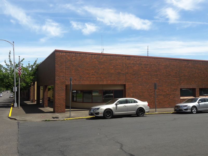 STAFF PHOTO: MARK MILLER - The facade of the Forest Grove Police Department is nondescript, with no obvious signage marking it as the city's police station.