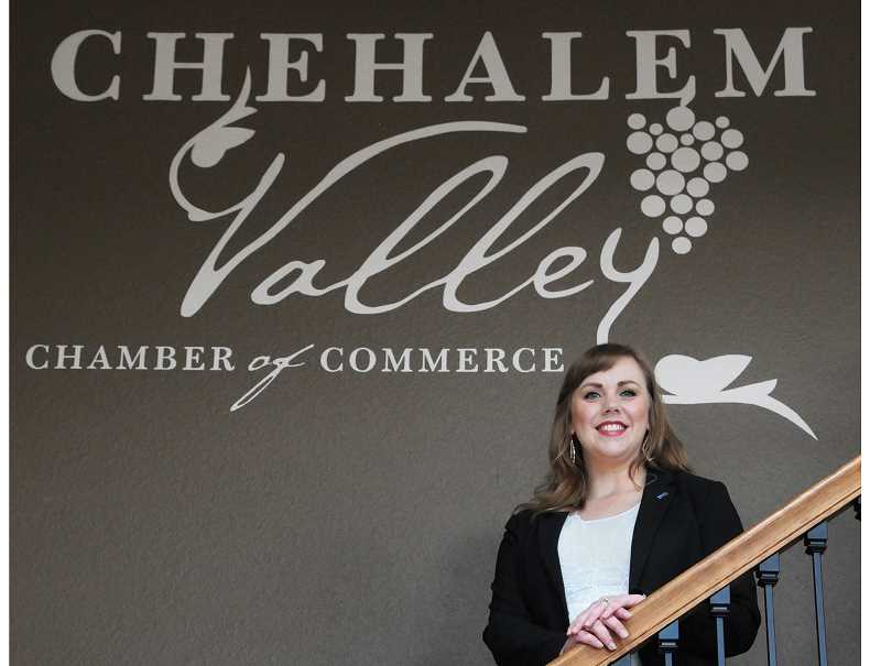GARY ALLEN - Shannon Buckmaster took over as CEO of the Chehalem Valley Chamber of Commerce on June 4.