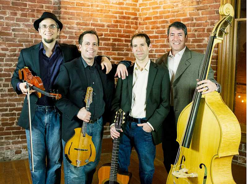 SUBMITTED PHOTO - Stumptown Swing will play June 15 at the Chehalem Cultural Center.