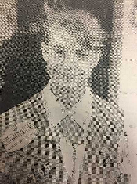 ARCHIVE PHOTO - In 1988, Estacada girl scout Rebecca Perry won the Columbia River Girl Scout Campership Award.