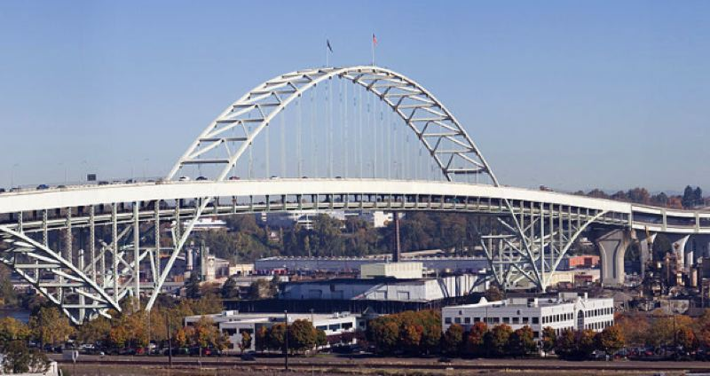 WIKIPEDIA PHOTO - The Fremont Bridge is shown here in a photo taken from Wikipedia.