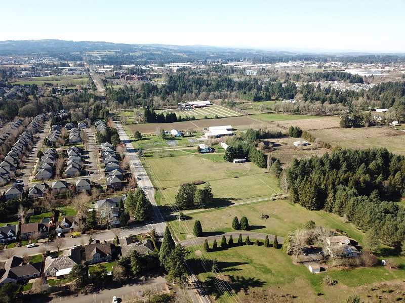 PAMPLIN MEDIA GROUP: ALVARO FONTAN - After building the Landover and Arbor Crossing subdivision to the South of Boeckman Road, Wilsonville is planning to develop residential neighborhoods to the North of Boeckman.