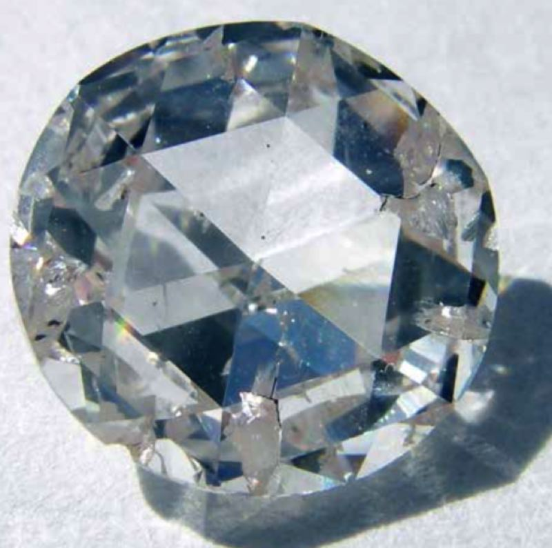 WIKIMEDIA/STEVE JURVESTSON - Synthetic diamonds, such as this one created by Apollo Diamond, are what a new plant in Gresham will be producing.