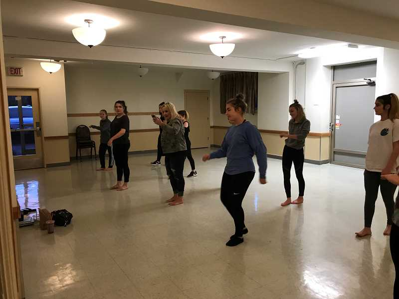 TIDINGS FILE PHOTO - Sunset Fire Hall has long been home to a number of City-sponsored recreation programs, and it also hosts groups like the Van De Veere Productions dance team.