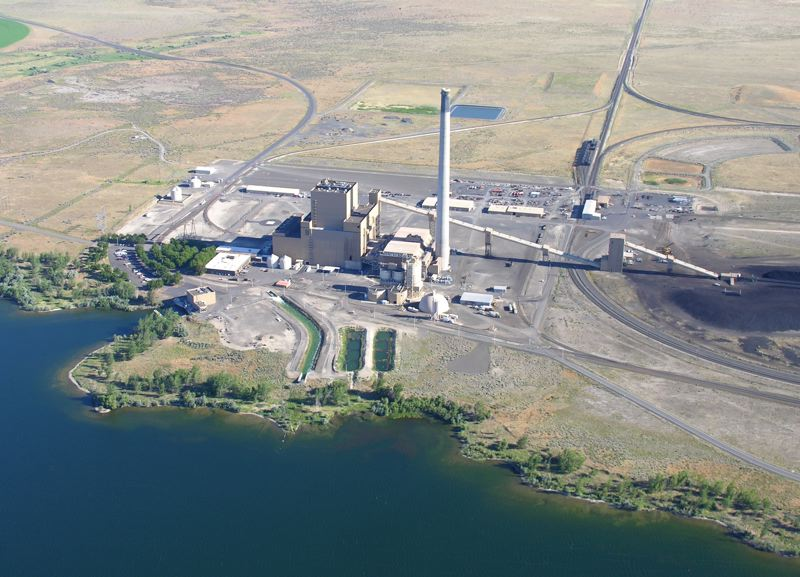 PHOTO COURTESY: PGE - Portland General Electric's Boardman coal plant is slated to stop producing coal energy by 2020. It's the lone operating coal plant in Oregon.
