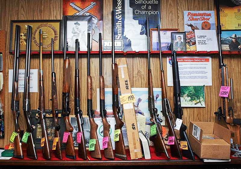PMG  FILE PHOTO - A gun rally slated for Saturday at Memorial Park in Newberg has been set to oppose Initiative Petition 43, which would ban certain types of firearms and high-capacity magazines in Oregon.