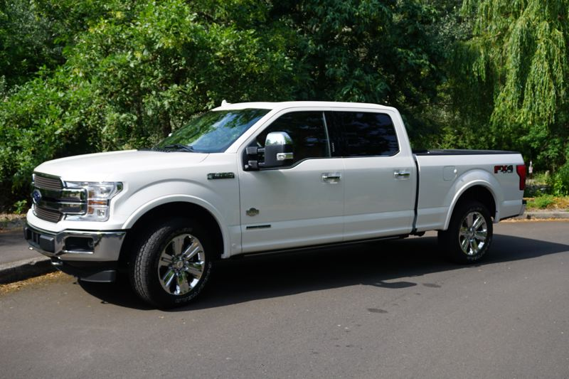 PORTLAND TRIBUNE: JEFF ZURSCHMEIDE - Ford offers several engines for the F-150 including but new for this year is a PowerStroke 3.0-liter turbo-diesel V6 that combines the torque of a V8 with the fuel economy of a four-cylinder.