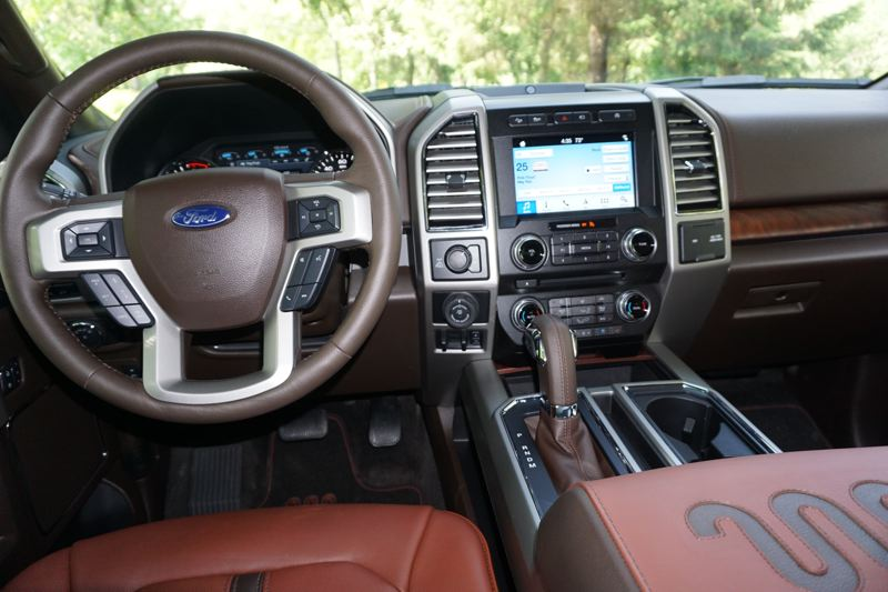 PORTLAND TRIBUNE: JEFF ZURSCHMEIDE - The short version on the interior is that any features you want are available somewhere in the F-150 line, inlcuding a large eight-inch full-featured infotainment system and adjustable pedals.