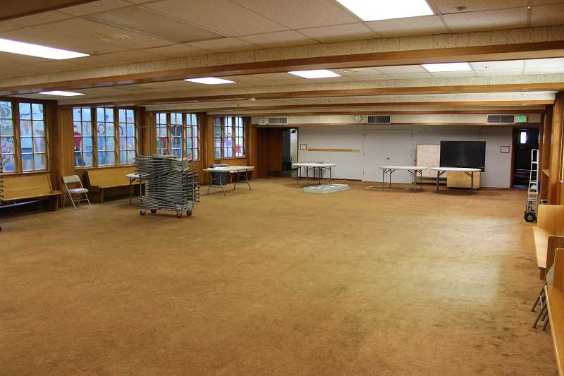 REVIEW PHOTO: ANTHONY MACUK - The Parks & Rec Teen Lounge will move to the Undercroft of Christ Church Episcopal Parish, which will be upgraded this summer with new carpeting, paint and electical systems.