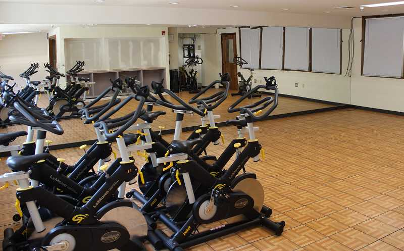 REVIEW PHOTO: ANTHONY MACUK - The upgraded Sequoia Room at the Adult Community Center will serve as the studio for several Parks & Rec  programs and home to equipment that had been used at Palisades.