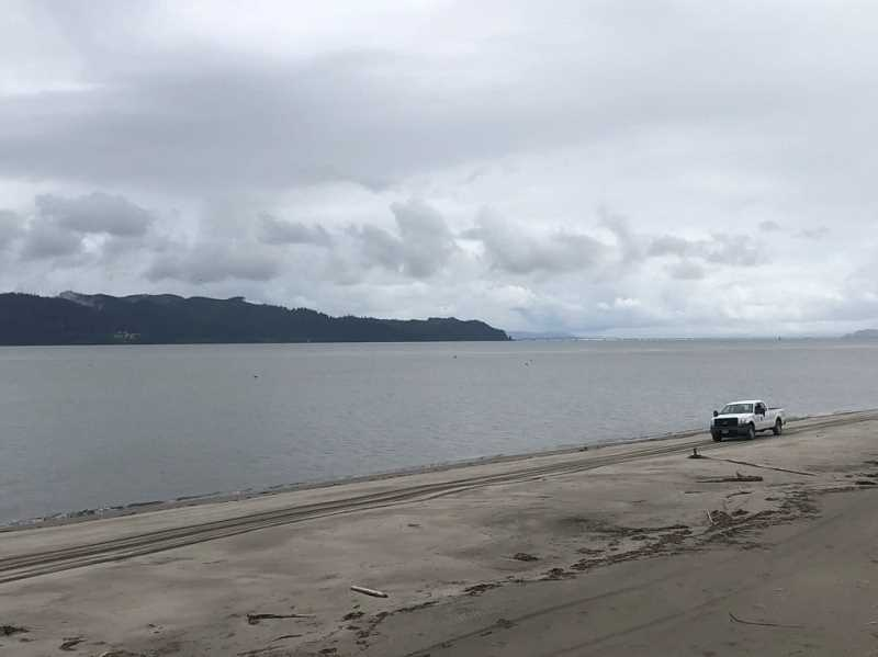 U.S. COAST GUARD PACIFIC NORTHWEST PHOTO - Coast Guard and law enforcement crews began searching Wednesday afternoon for a 53-year-old man who was reported missing in Clatsop County while fishing in the area.