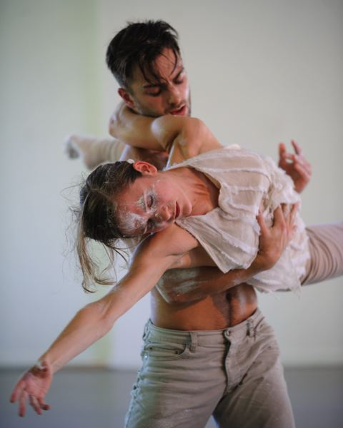 COURTESY: CHRISTOPHER PEDDECORD - Northwest Dance Project's 'Memory House' includes dancers Andrea Parson and Franco Nieto.