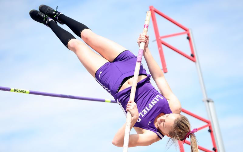 COURTESY: LINFIELD COLLEGE - Scappoose graduate Olivia McDaniel has soared to two Northwest Conference pole vault titles as a member of the Linfield women's track and field team.