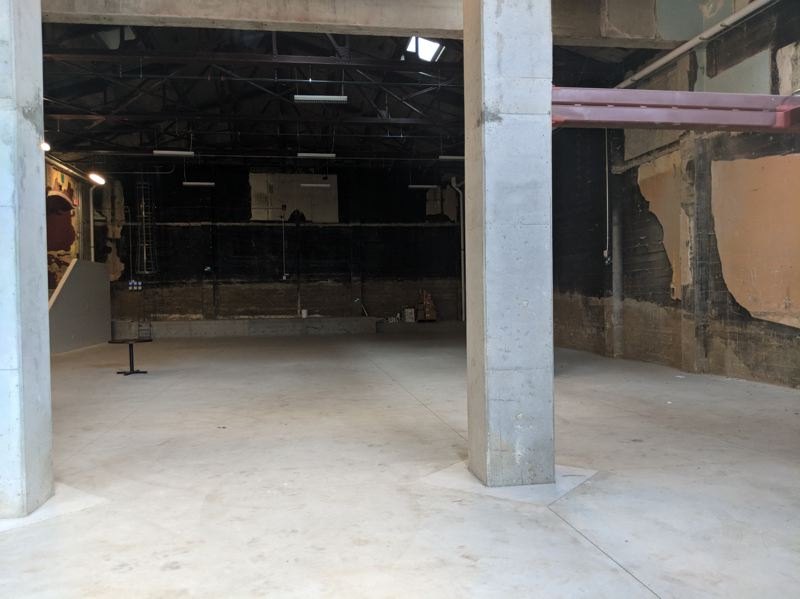 PAMPLIN MEDIA GROUP:  JOSEPH GALLIVAN - Kinokuniya Books, a Japan-based bookstore, will take over the 91-year-old Space in the Guild Theatre after more than a decade of vacancy. The space as it looked in mid June 2018.