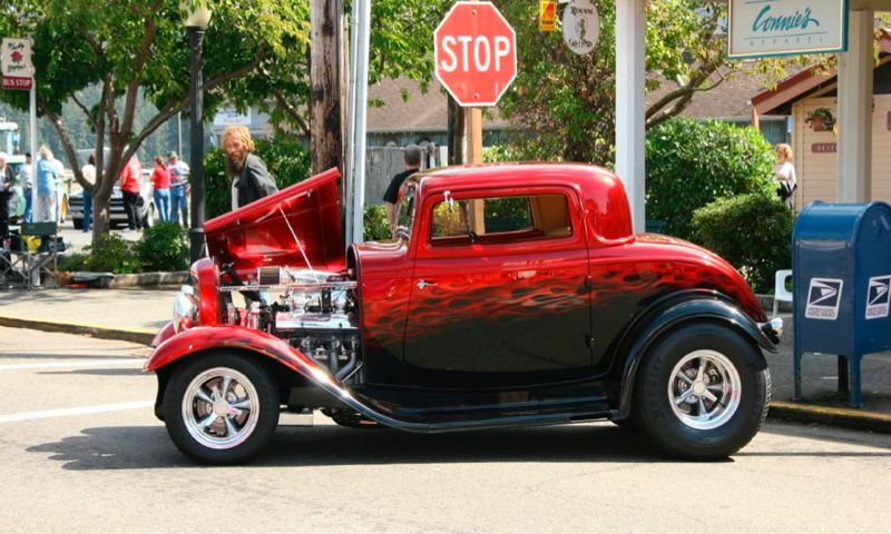 COURTESY MECUM AUCTIONS - This award-winning 1932 Ford 3-Window Coupe street rod is among the 600-plus cars at the June 22-23 Mecum auction in Portland.