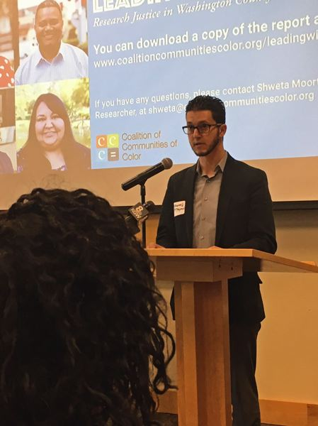 TIMES PHOTO: PETER WONG - Mohamed Alyajouri, a PCC board member from Beaverton, said the county and Oregon have not always been welcoming to minorities.