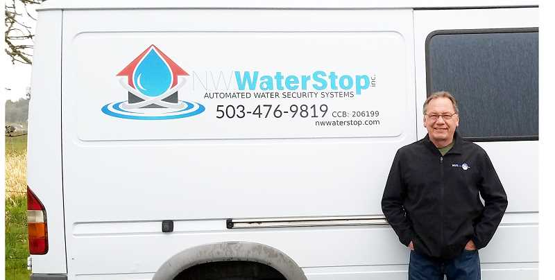 SUBMITTED PHOTO - Greg Neurohr (above) partnered with Ryan Anderson to create NW Water Stop, billed as the only company in Oregon that sells water security systems for residential, commercial and apartments.