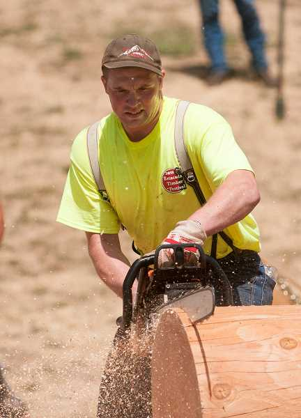 FILE PHOTO - The annual Estacada Timber Festival will connect interested participants with logging competitions.