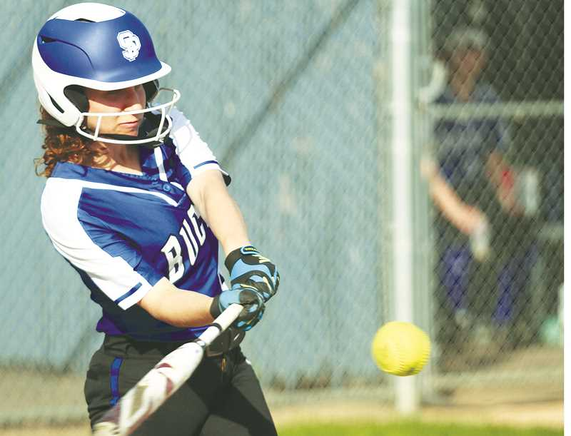 GRAPHIC FILE PHOTO - The St. Paul softball team finished with the highest grade-point average (3.92) of any program in the state and was one of four Bucks teams to finish in the top 10 of the 2A Academic All-State standings. Graphic
