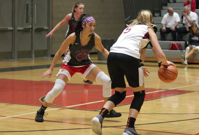 PAMPLIN MEDA: JIM BESEDA - La Salle Prep guard Alyson Miura is among the state's top college prospects in the Class of 2019.