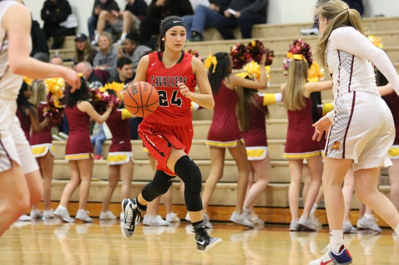 PAMPLIN MEDIA: JIM BESEDA - Alyson Miura was named to the Mt. Hood Conference's all-league first team and earned Class 6A All-State honorable mention in each of her first three seasons at Clackamas High School.