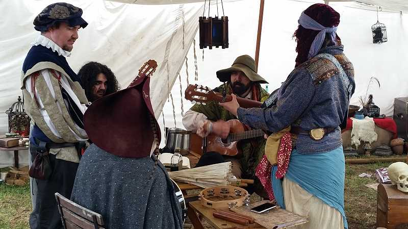 JOHN BAKER - Music, food and plenty of artisans were all part of this year's renaissance faire.