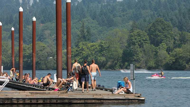 TIDINGS FILE PHOTO - The draft 2018 parks plan calls for enhanced water access across the city, but the council opted to delay the adoption of the plan to allow for more revisions.