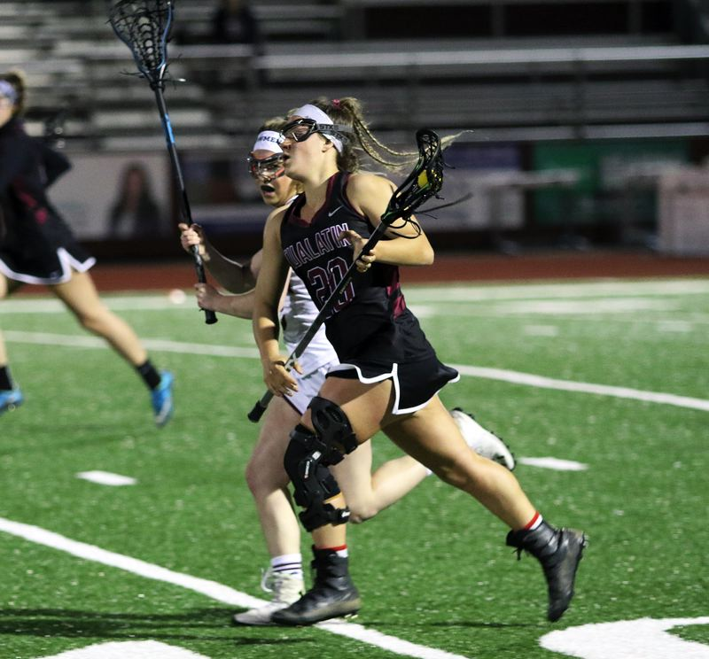 TIMES PHOTO: DAN BROOD - Tualatin High School junior Avery Gales earned All-NWOC first-team honors for her play in the 2018 season.