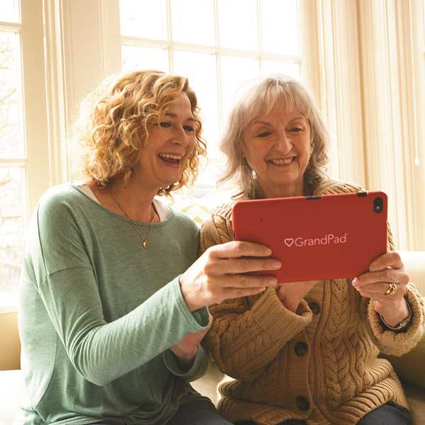 SUBMITTED PHOTOS  - Unlike a tablet or iPad, GrandPad was designed specifically for seniors 75-plus who cant or dont use a smartphone or computer.