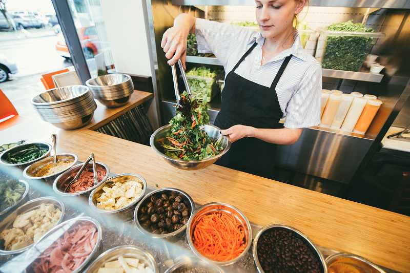 SUBMITTED PHOTOS  - Lake Oswego's Garden Bar is now open, making it the ninth location of the fresh fast-casual restaurant.