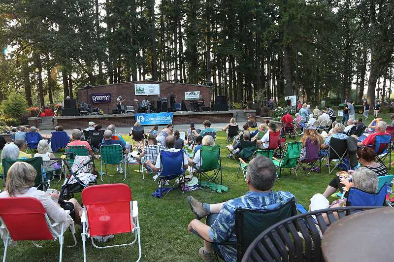 COURTESY PHOTO - The Showtime at Shute summer concert series will rock Shute Park in Hillsboro in July and August.